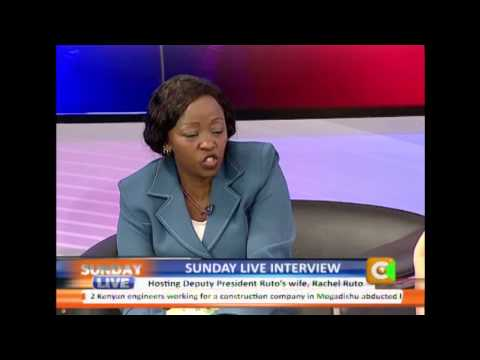 Sunday Live Interview with Rachael Ruto