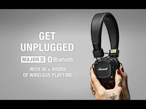 Marshall - Major II Bluetooth Headphone- Product Overview
