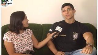 Agente que impediu assalto em Brasília concede entrevista a TV Rio Preto
