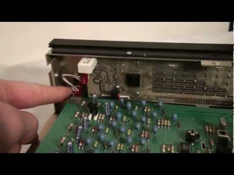 Drake R8 Shortwave Receiver Display Repair