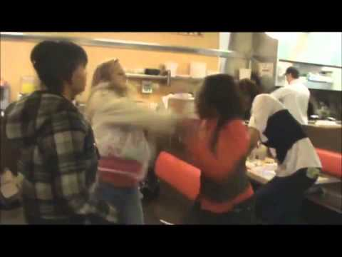 Waffle House fight Between Hoodrats on brice in columbus ohio