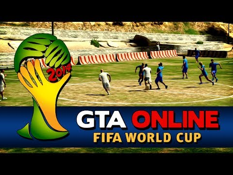 GTA Online - FIFA World Cup Brazil 2014 - England vs Italy