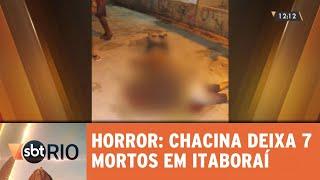 Chacina deixa pelo menos 7 mortos entre Itaboraí e São Gonçalo