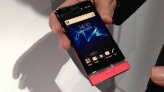 Sony XPERIA P hands-on (HD)