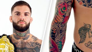 UFC Fighter Cody Garbrandt Explains His Tattoos | Tattoo Tour | GQ Sports