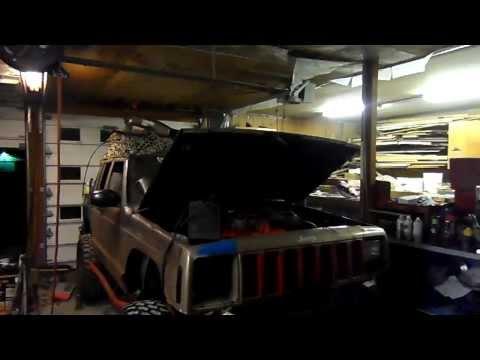 4bt Jeep Cherokee run & ignition test