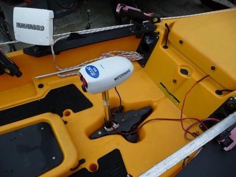 Hobie Kayak - trolling motor install - Part 2