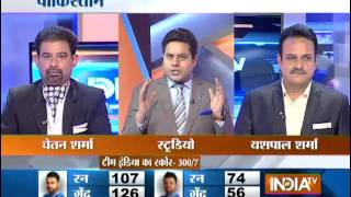 India vs Pakistan Highlights:  Kohli's Century Helps India to Post 300 Runs in CWC 2015 - India TV