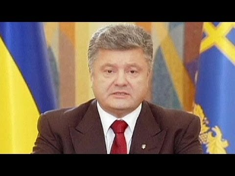 Poroshenko spells out peace plan but Ukraine truce fails to stop fighting