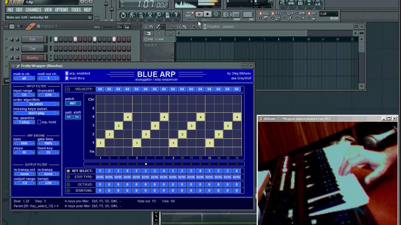 BlueARP - VST Arpeggiator for Electronic & Trance Music ...