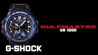 CASIO G-SHOCK GULFMASTER GN-1000 product video