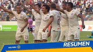 Resumen: Universitario vs. Sport Boys (4-0)