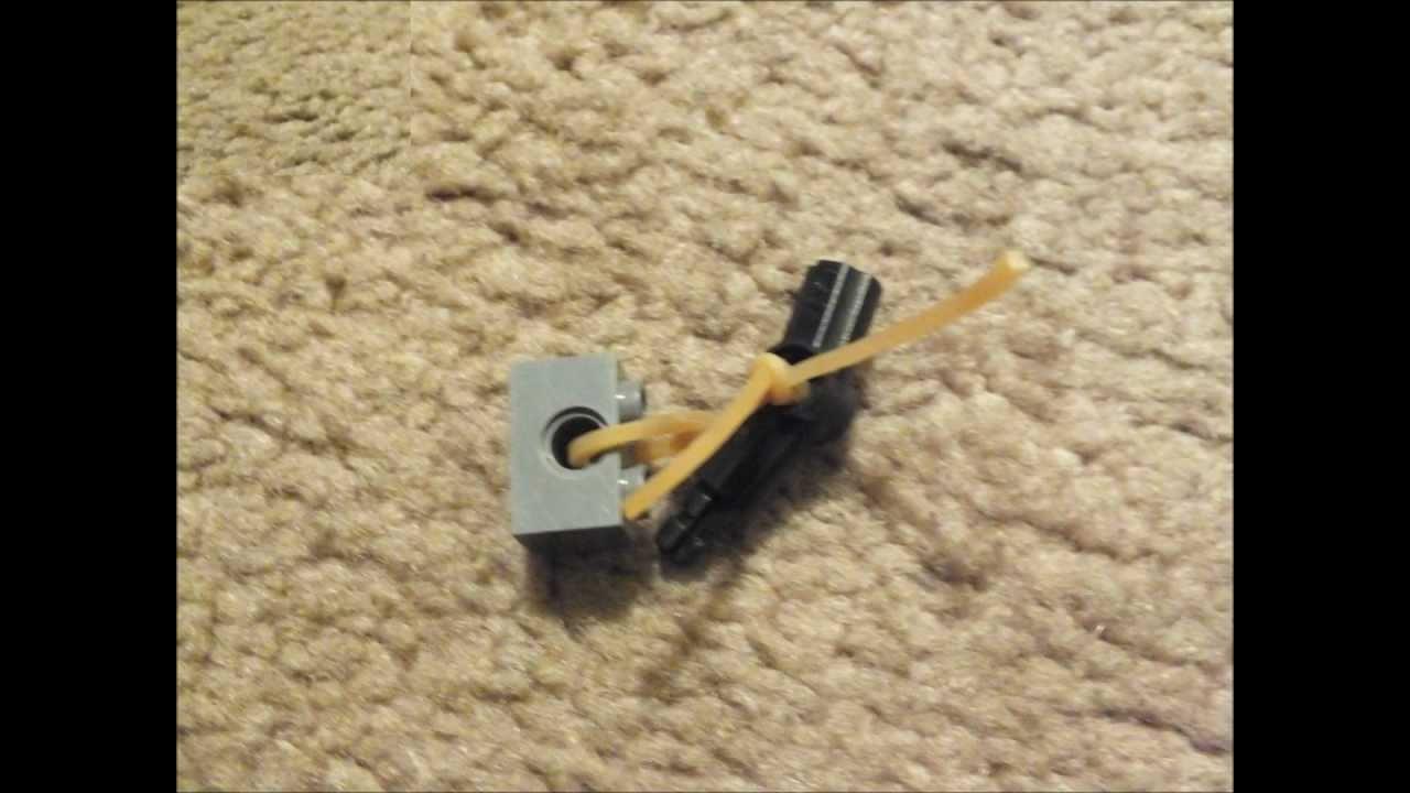 How to Make a Lego Pistol/gun