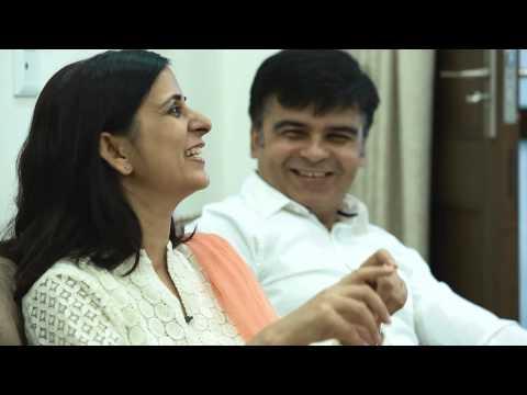 Customer Testimonial by Mr. & Mrs. Khanna - Asian Paints Ezycolour...