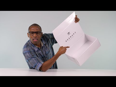 UNBOXING: The MYSTERIOUS Empty Adidas SNEAKER Box