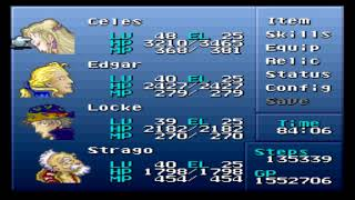 Final Fantasy VI (III) - Brave New World Mod + Nowea Difficulty Patch: Episode 55.