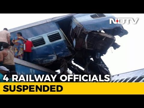 4 Railways Officials Suspended After UP Train Accident