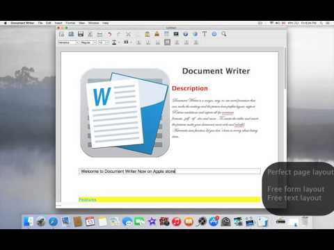 Document Writer for Microsoft Word Edition and Open Office Format