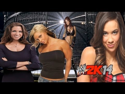 WWE 2K14 Online Divas Elimination Chamber Match