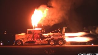 Shockwave Jet Truck hits 348.2mph @ NIGHT !!!