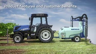New Holland Agriculture Blue Cab 4 Technology (T4F)