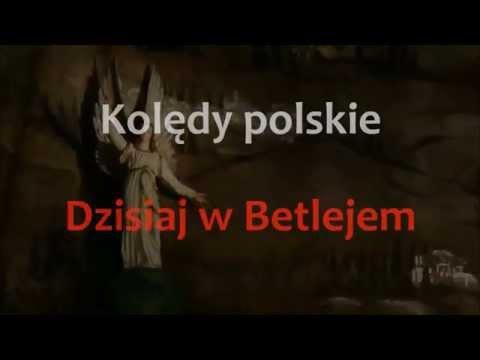 Kolędy I Pastorałki - Dzisiaj W Betlejem - Karaoke (instrumental + Tekst)