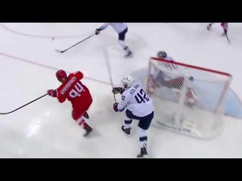 Россия   США 4  0  Хоккей   Олимпиада 2018