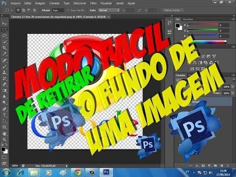 Modo fácil de retirar o fundo de uma imagem no Photshop