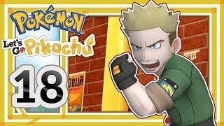 ELEKTRISIERENDER KAMPF GEGEN MAJOR BOB #18 Pokémon Let's Go Pikachu