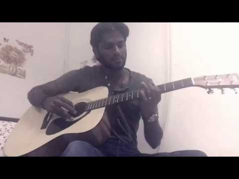 Mounam pesiyadhey theme-guitar