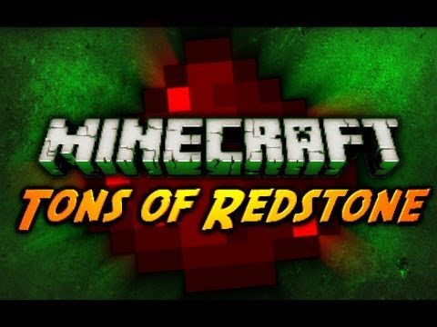 Minecraft: Tons of Redstone! (Piston Launcher + New Elevator)