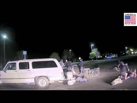 Dashcam Footage of Cottonwood, AZ WalMart Brawl With Police