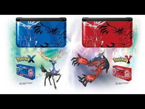 Nintendo 3DS XL x and y edition