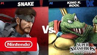 Super Smash Bros. Ultimate – King K. Rool gameplay (Nintendo Switch)