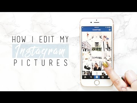 How I Edit My Instagram Photos! | I Covet Thee