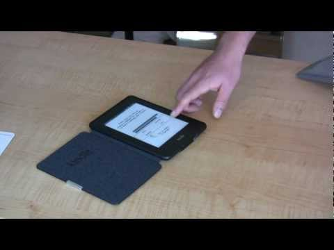 Kindle Paperwhite 3G Unboxing and Review Video