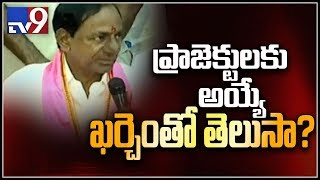 KCR on completion of irrigation projects in Telangana