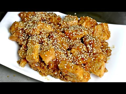 I Made General Tso's Chicken At Home With Original Recipe - Chinese Recipes - Chicken Recipes