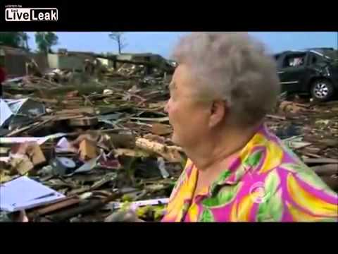 Answered Prayers – Oklahoma Tornado Victim Finds Her Lost Dog During News Interview