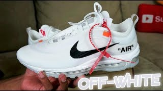 "NIKE AIR MAX 97 ""OFF-WHITE"" FULL DETAILED REVIEW"