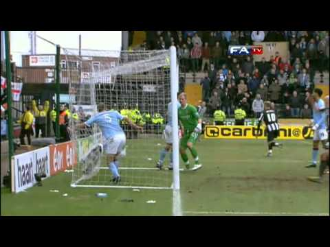 Notts County 1-1 Man City | The FA Cup 4th Round - 30/01/11