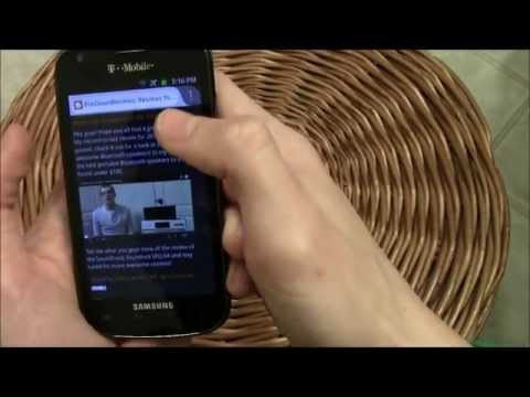 Samsung Galaxy S Blaze 4G Review