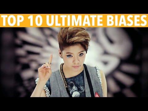 TOP 10 K-POP ULTIMATE BIASES - K-VILLE'S STAFF PICKS