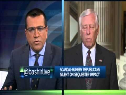 Hoyer Discusses the Sequester and Republican Partisanship on MSNBC
