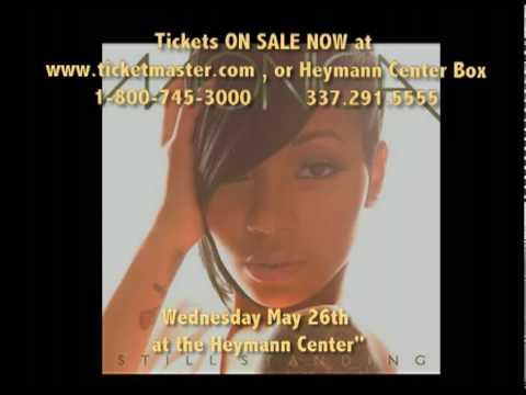 MOTW Nightlife: MONICA live in CONCERT @ Heymann Center-Lafayette
