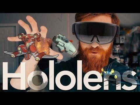Просто WOW!!! Сходил потестил HoloLens.