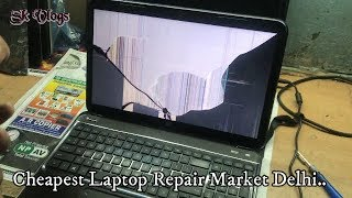 Cheapest Laptop Repair Market Delhi...  ( Nehru Place market    )
