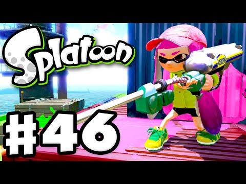 Splatoon - Gameplay Walkthrough Part 46 - Custom E-Liter 3K! (Nintendo Wii U)