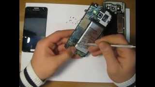 Разборка - Samsung Galaxy A3.
