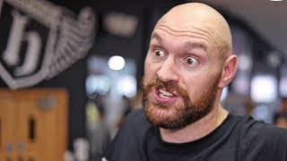 "TYSON FURY: ""I TOLD EDDIE HEARN.. I'M NOT INTERESTED IN YOUR B**SH*T NEGOTIATIONS!"""